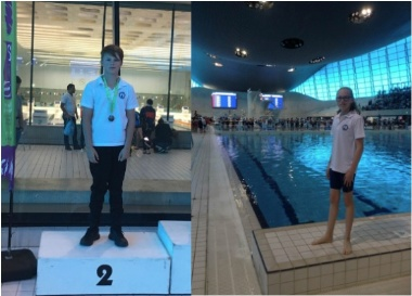 St Cedd's School Pupils Swim to National Success in Olympic Pool