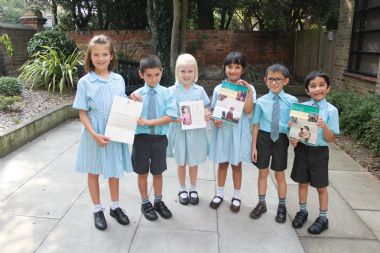 St Cedd's School receives a special letter from the Queen!